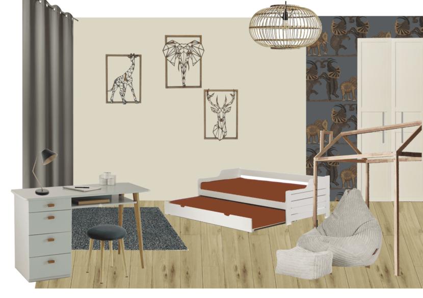 Planche mobilier - chambre enfant Paris