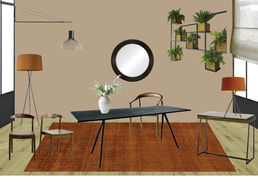 Planche mobilier - Salle à manger Paris